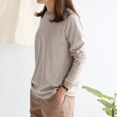 [J]Home once stripe T(3C)